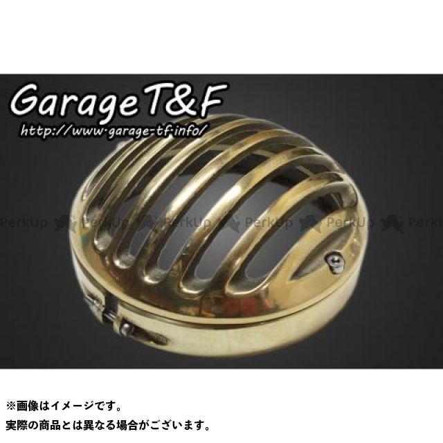 ガレージティーアンドエフ 汎用 電装ステー・カバー類 4.5インチベーツライト専用 バードゲージカバー 真鍮