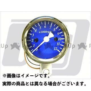 【エントリーで最大P23倍】GUTS CHROME タコメーター 48mm タコメーター 電気式 カラー:青 ガッツクローム