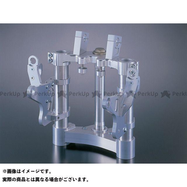 送料無料 Gild design Z1-R トップブリッジ関連パーツ ステアリングステムキット ショートオフセット(シルバー) φ43/210mm