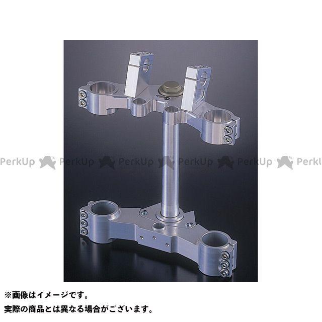 送料無料 Gild design Z1000MK- トップブリッジ関連パーツ ステアリングステムキット ショートオフセット(シルバー) φ43/210mm