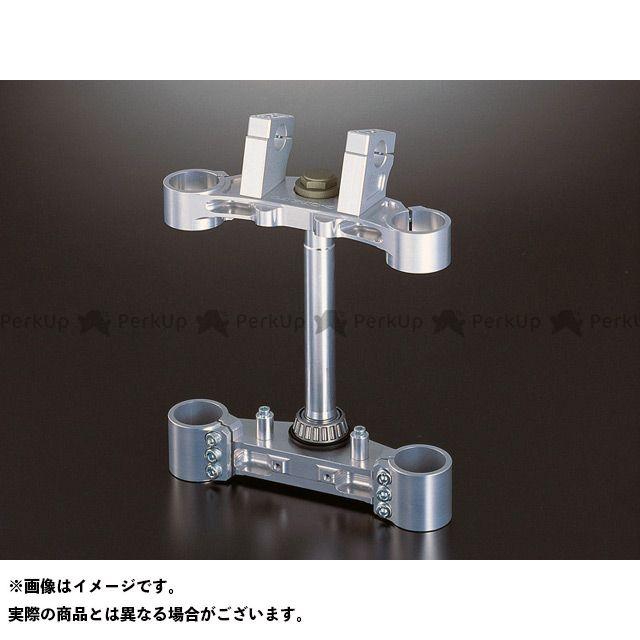 送料無料 Gild design ZRX1100 トップブリッジ関連パーツ ステアリングステムキット ノーマルオフセット(シルバー)