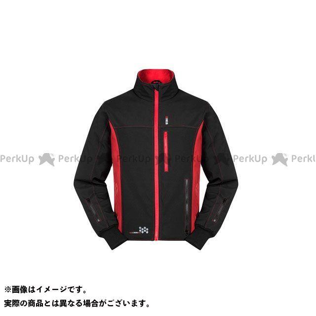 KEIS 電熱ウェア・防寒用品 プレミアム ヒートジャケット(ブラック/レッド) サイズ:56(2XL) KEIS