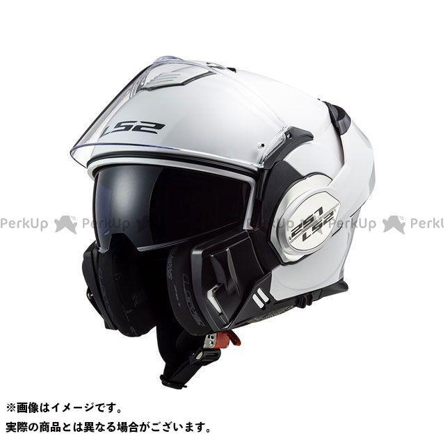 エルエスツー システムヘルメット(フリップアップ) VALIANT(ホワイト) サイズ:L LS2 HELMETS