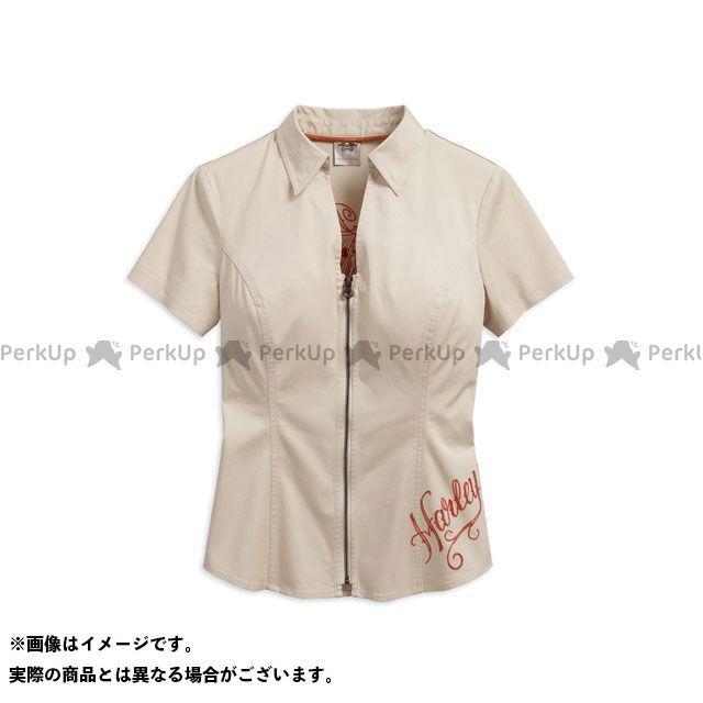 HARLEY-DAVIDSON レディースアパレル LD'Sシャツ/ Performance Fast-Dry Zip-FrontShirt M ハーレーダビッドソン