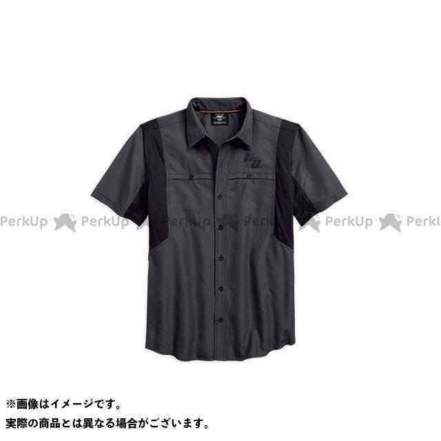 HARLEY-DAVIDSON カジュアルウェア シャツS/S Performance Vented Fast Dry Shirt サイズ:S ハーレーダビッドソン