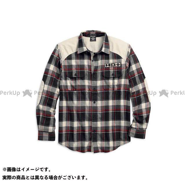 HARLEY-DAVIDSON カジュアルウェア シャツL/S/ElbowPatch FlannelShirt サイズ:M ハーレーダビッドソン