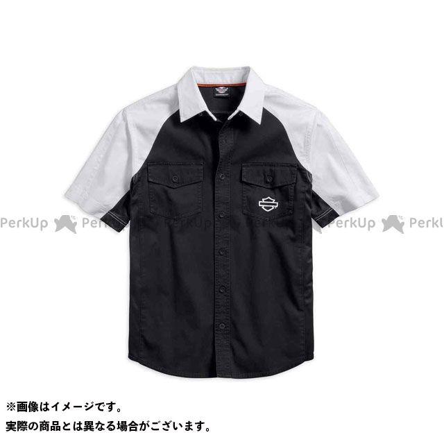 HARLEY-DAVIDSON カジュアルウェア シャツS/S Performance VentedContrast ClubShirt サイズ:XL ハーレーダビッドソン