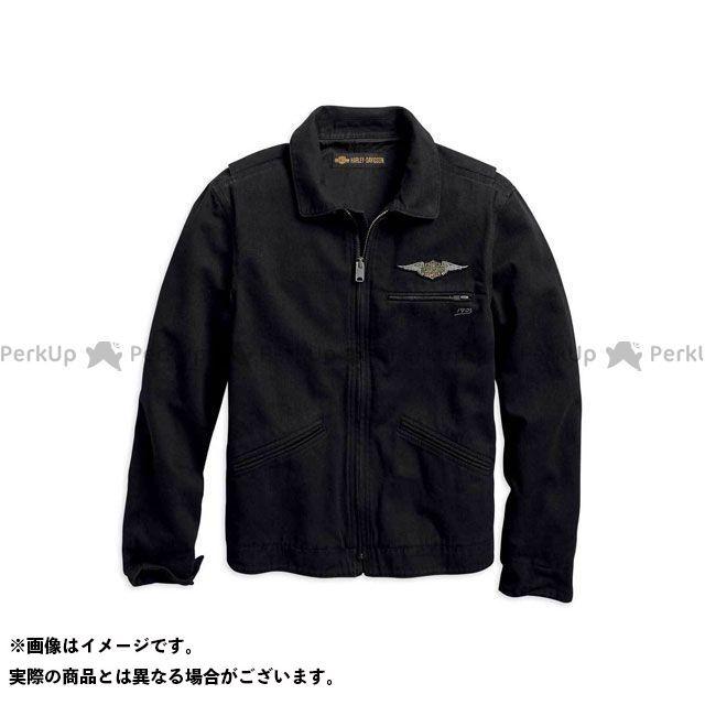 HARLEY-DAVIDSON カジュアルウェア コットンJKT/ Winged Logo Jacket サイズ:S ハーレーダビッドソン