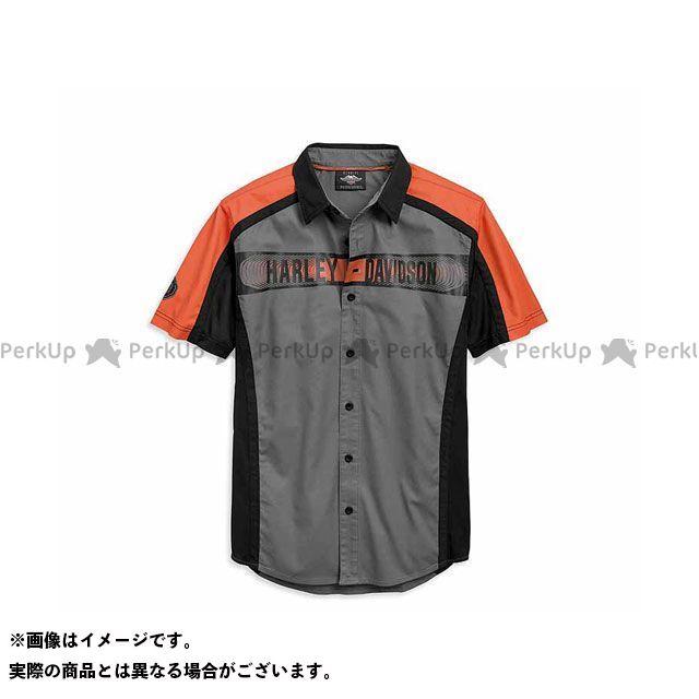 HARLEY-DAVIDSON カジュアルウェア シャツS/S Performance ColorblockShirt サイズ:S ハーレーダビッドソン