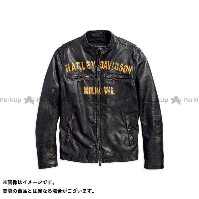 HARLEY-DAVIDSON ジャケット レザーJKT/ 1903 FORGE BLK サイズ:L ハーレーダビッドソン