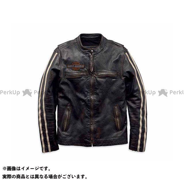 HARLEY-DAVIDSON ジャケット レザーJKT/SleeveStripe SlimFit LeatherJacket サイズ:L ハーレーダビッドソン