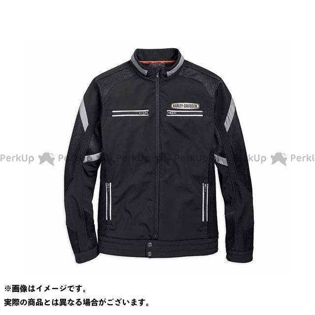 HARLEY-DAVIDSON ジャケット メッシュJKT/Performance Soft Shell & Mesh Jacket サイズ:L ハーレーダビッドソン
