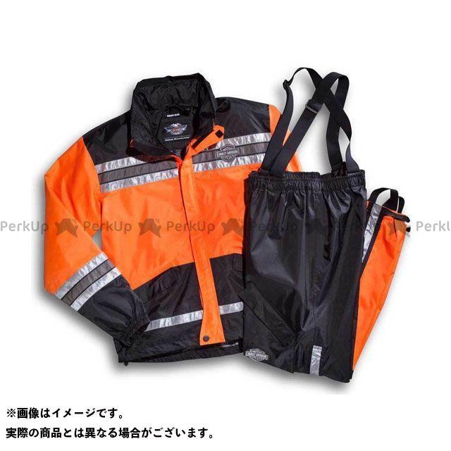 HARLEY-DAVIDSON レインウェア レインウエア HI-VIS/オレンジ XL ハーレーダビッドソン