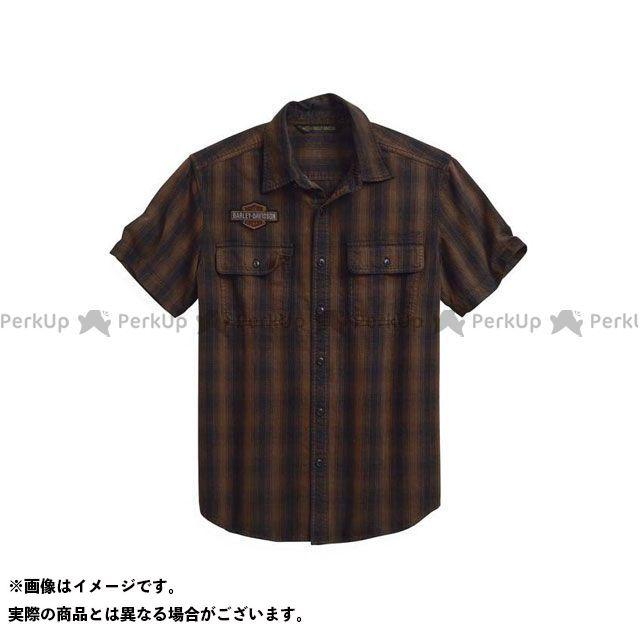 HARLEY-DAVIDSON カジュアルウェア シャツS/S Plaid Short Sleeve Shirt サイズ:L ハーレーダビッドソン