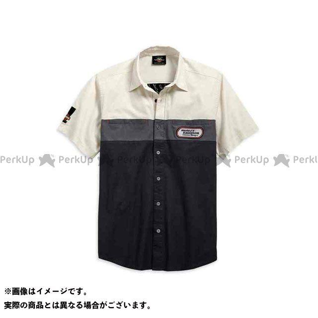HARLEY-DAVIDSON カジュアルウェア シャツS/S/Men's H-D Racing Colorblock Shirt サイズ:M ハーレーダビッドソン