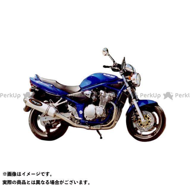 Marving GSF600 マフラー本体 マービング マフラー ビッグオーバル = 102x130 Superline アルミニウム - EU公道走行認可 for Suzuki GSF 600 BANDIT 00 (00  マービング