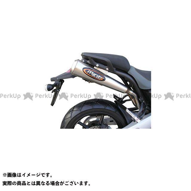 Marving MT-03 マフラー本体 マービング アンダーシート デュアルマフラー コニカルエンド 110 Racing Steel ステンレススチール - EU公道走行認可 for Yamaha M マービング