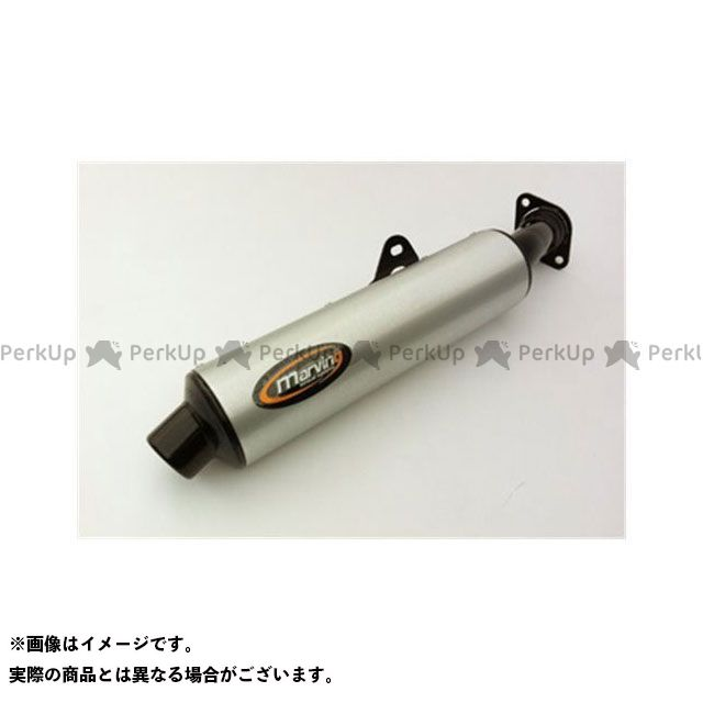 【エントリーで更にP5倍】Marving VFR750F インターセプター マフラー本体 マービング マフラー Cylindrical 114 ブラック + アルミニウム - EU公道走行認可 for Honda VFR 750 F (90-93) マ…