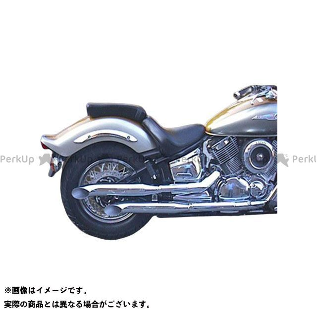 【エントリーで更にP5倍】Marving ドラッグスター1100(DS11) マフラー本体 マービング デュアルマフラー Legend クロム for Yamaha XVS 1100 DRAGSTAR (99-06) マービング