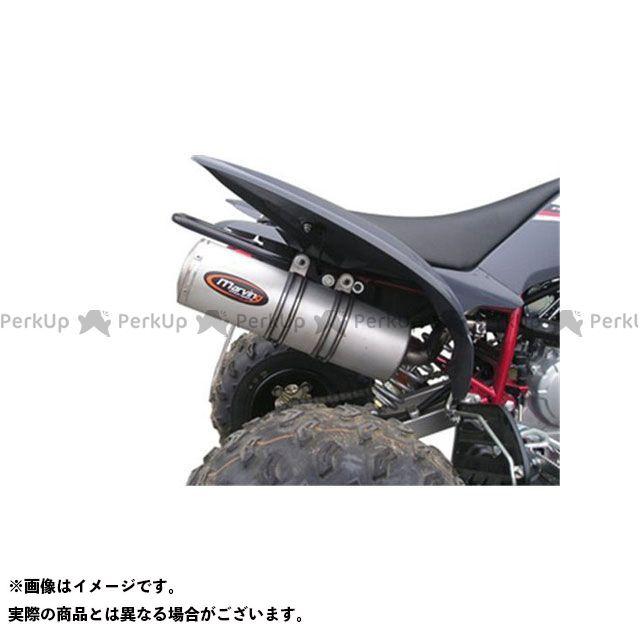 【エントリーで最大P23倍】Marving ATV・バギー マフラー本体 マービングマフラー Single Small Oval Quad Atv Line アルミ (クワッド・4輪バイク)RAPTOR 250 2008 YAMAHA Quad - E…