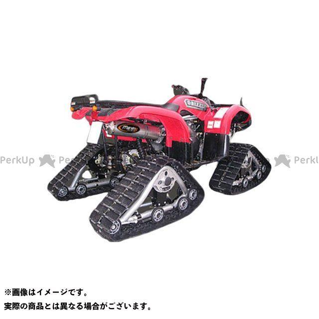 Marving ATV・バギー マフラー本体 マービングマフラー Single Big Oval Quad Atv Line アルミ (クワッド・4輪バイク)GRIZZLY 660 2003 YAMAHA Quad - EU/A マービング