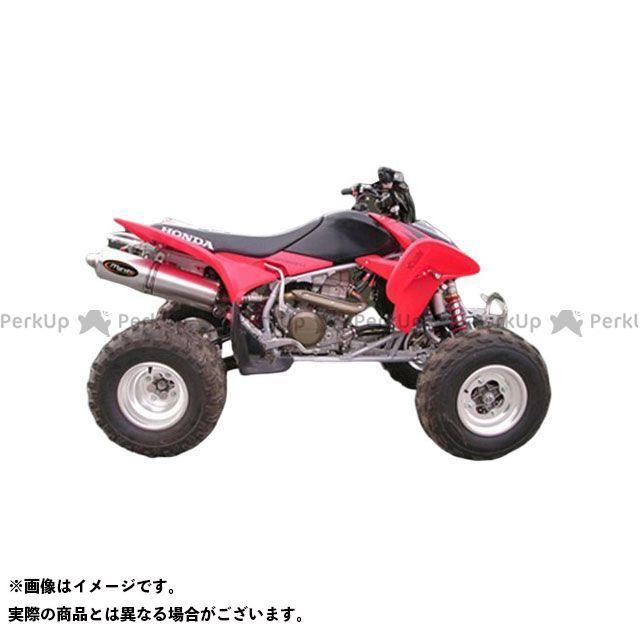 【エントリーで更にP5倍】Marving ATV・バギー マフラー本体 マービングマフラー Single Big Oval Quad Atv Line アルミ (クワッド・4輪バイク)TRX 450 2004> HONDA Quad - EU/AL/H…