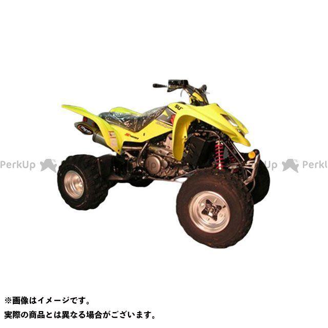 Marving ATV・バギー マフラー本体 マービングマフラー Single Big Oval Quad Atv Line アルミ (クワッド・4輪バイク)LTZ 400 2003 > SUZUKI Quad - EU/AL/ マービング