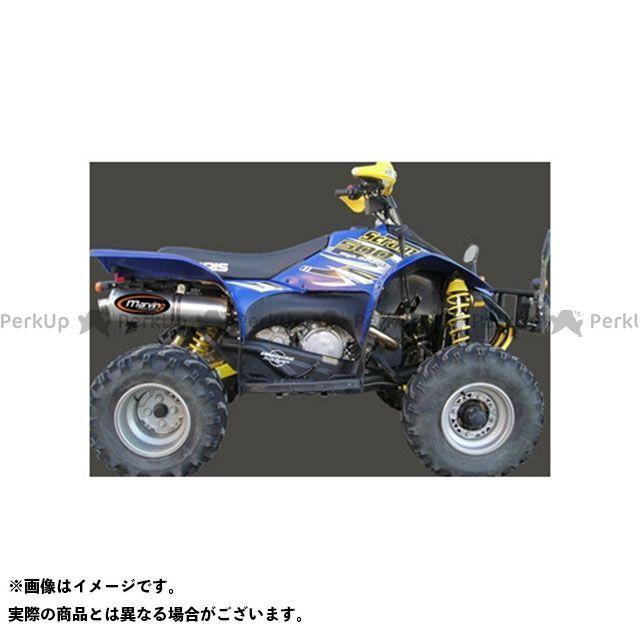 【エントリーで最大P23倍】Marving ATV・バギー マフラー本体 マービングマフラー Single Big Oval Quad Atv Line アルミ (クワッド・4輪バイク)SCRAMBLER 500 >2006 POLARIS Quad …