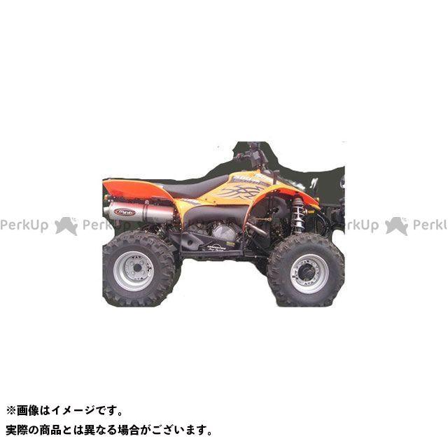 【エントリーで最大P23倍】Marving ATV・バギー マフラー本体 マービングマフラー Single Big Oval Quad Atv Line アルミ (クワッド・4輪バイク)SCRAMBLER 500 2006 > POLARIS Quad…