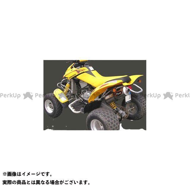 【エントリーで最大P23倍】Marving ATV・バギー マフラー本体 マービングマフラー Single Big Oval Quad Atv Line アルミ (クワッド・4輪バイク)DS 650 2003/2004 CAN AM Quad - EU…