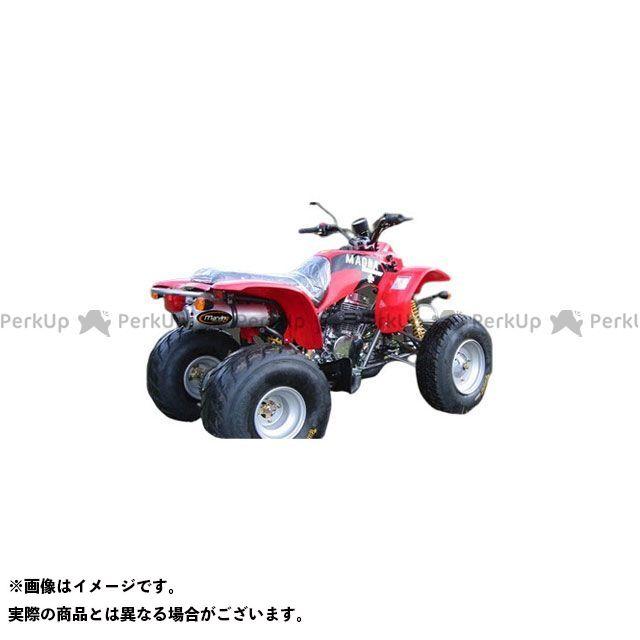 【エントリーで最大P21倍】Marving ATV・バギー マフラー本体 マービングマフラー Single Round Φ 100 Quad Atv Line アルミ (クワッド・4輪バイク)150 2004 > BAROSSA Quad - EU/S…