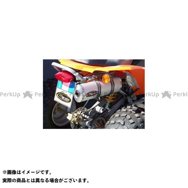 Marving ATV・バギー マフラー本体 マービングマフラー Single Small Oval Quad Atv Line アルミ (クワッド・4輪バイク)300 2009 > BAROSSA Quad - EU/ALO/ マービング