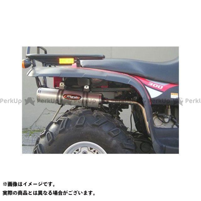 Marving ATV・バギー マフラー本体 マービングマフラー Single Small Oval Quad Atv Line アルミ (クワッド・4輪バイク)300 CLASSIC 4X4 2006 > LINHAI Quad マービング