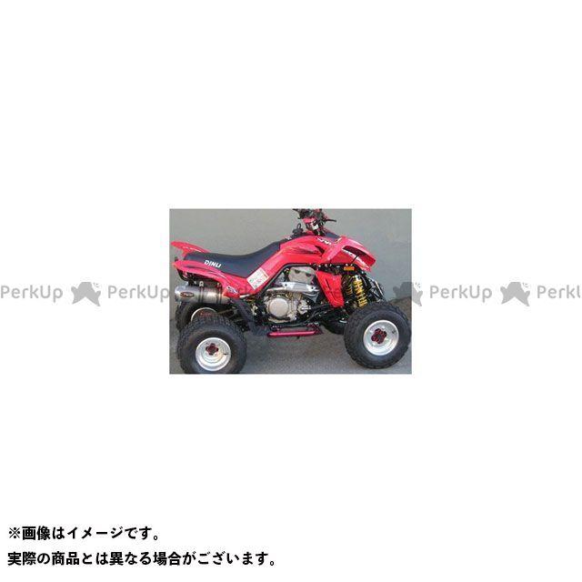 Marving ATV・バギー マフラー本体 マービングマフラー Group Small Oval Quad Atv Line アルミ (クワッド・4輪バイク)450 2007 > DINLI Quad - DN/171/IX マービング