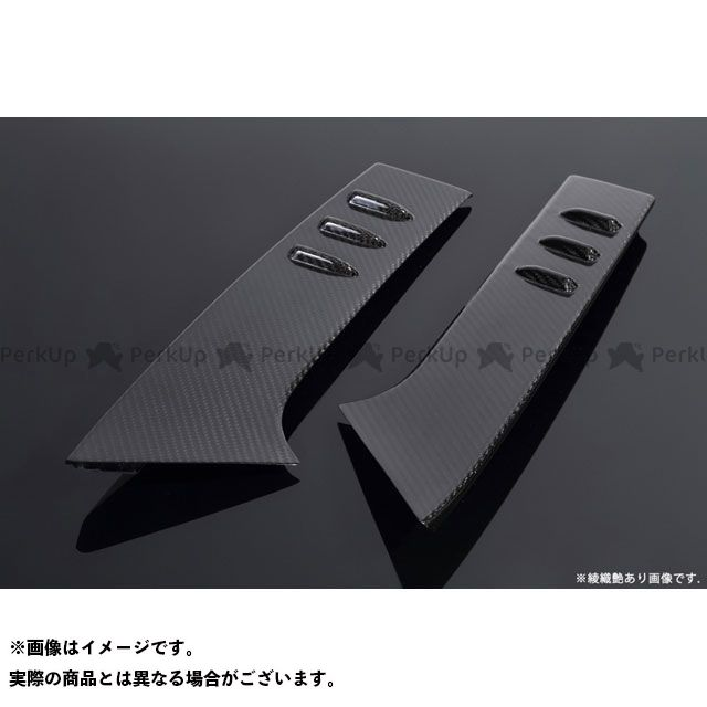 Shiftric 外装 リアウィングサイドカバー ドライカーボン(仕様:綾織艶あり) シフトリック