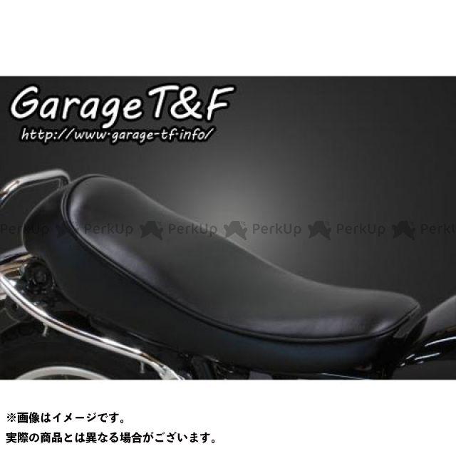 【エントリーで更にP5倍】ガレージティーアンドエフ SR400 シート関連パーツ スムースシート Face-1(ブラック) ガレージT&F