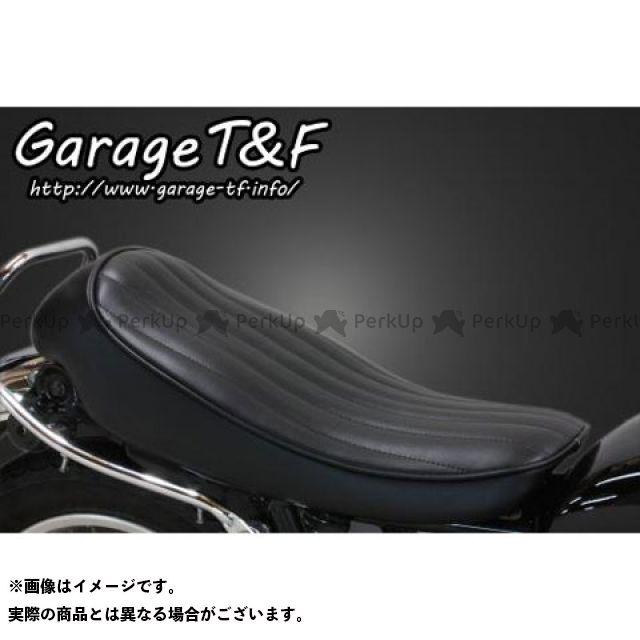 【エントリーで更にP5倍】ガレージティーアンドエフ SR400 シート関連パーツ バーチカルロールシート Face-1(ブラック) ガレージT&F