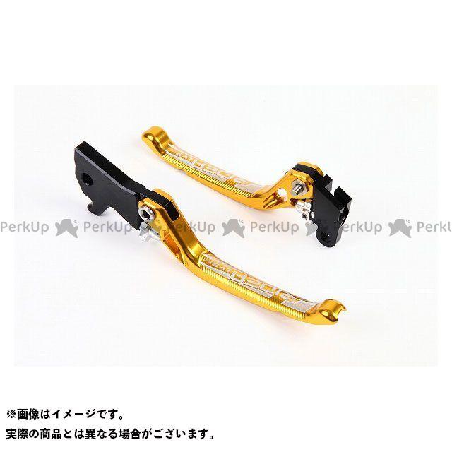 【特価品】RIDEA PCX125 PCX150 レバー 3Dノブアジャストブレーキレバー 左右セット(ゴールド) リデア