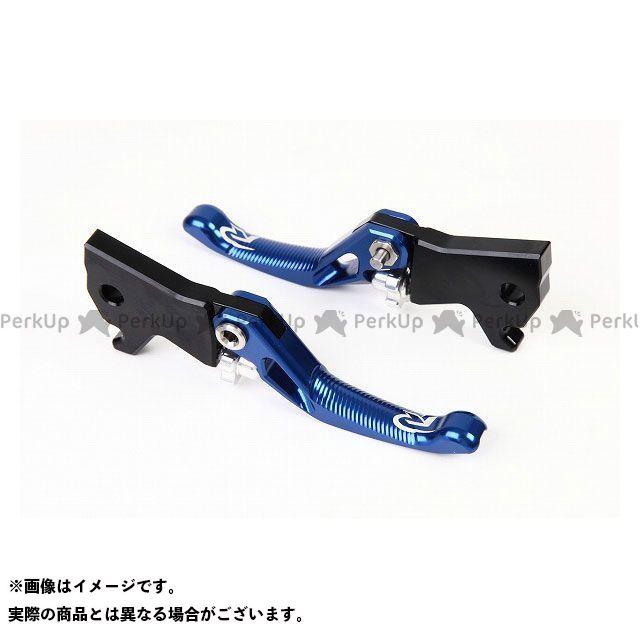 【特価品】RIDEA PCX125 PCX150 レバー 3Dショートノブアジャストブレーキレバー 左右セット(ブルー) リデア