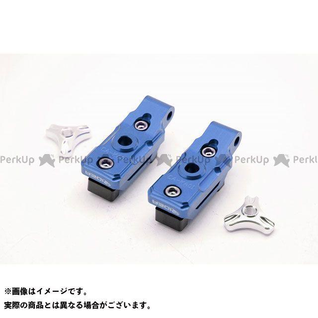 【特価品】RIDEA ニンジャ250 Z250 チェーン関連パーツ チェーンアジャスター(ブルー) リデア