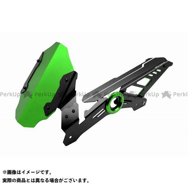 【特価品】RIDEA ニンジャ250 Z250 フェンダー リアフェンダー(グリーン) リデア