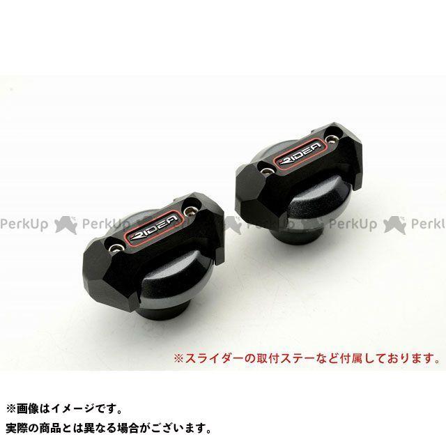 【特価品】RIDEA ニンジャ250 スライダー類 フレームスライダー メタリックタイプ(チタン) リデア