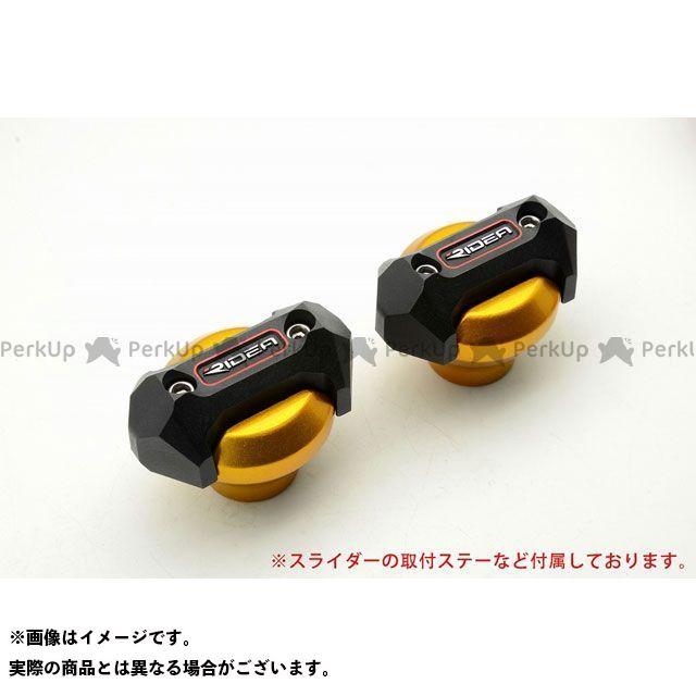 【特価品】RIDEA ニンジャ250 スライダー類 フレームスライダー メタリックタイプ(ゴールド) リデア