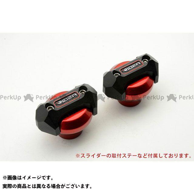 【特価品】RIDEA ニンジャ250 スライダー類 フレームスライダー メタリックタイプ(レッド) リデア