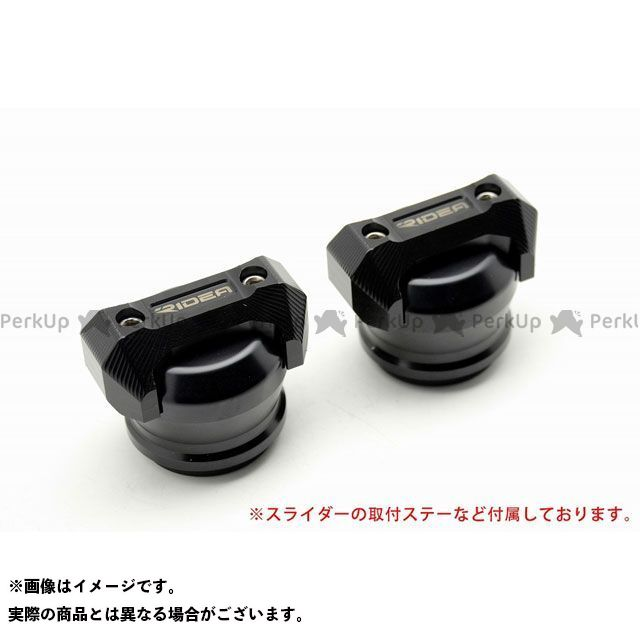 【特価品】RIDEA GSX-S1000 GSX-S1000F スライダー類 フレームスライダー スタンダードタイプ(ブラック) リデア