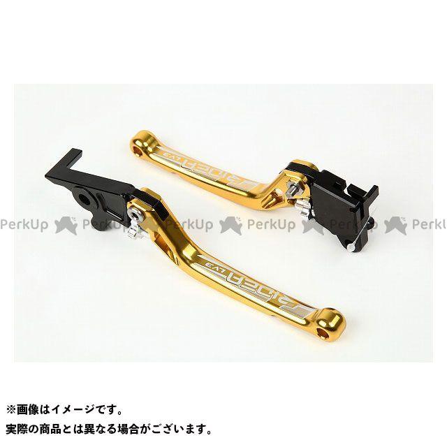 【特価品】RIDEA アドレスV125 レバー ノブアジャストブレーキレバー 左右セット(ゴールド) リデア