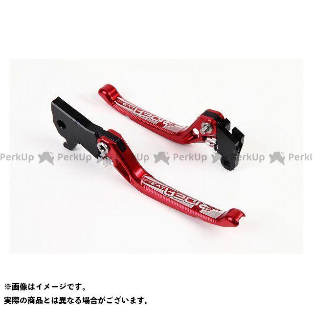 【特価品】RIDEA アドレスV125 レバー 3Dノブアジャストブレーキレバー 左右セット(レッド) リデア