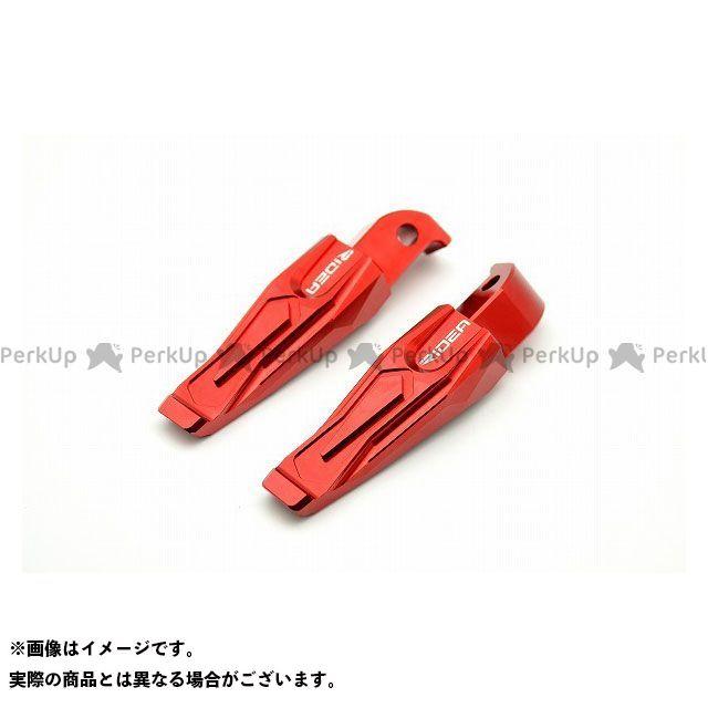 【無料雑誌付き】【特価品】RIDEA TMAX500 TMAX530 タンデムステップ関連パーツ タンデムステップ(レッド) リデア
