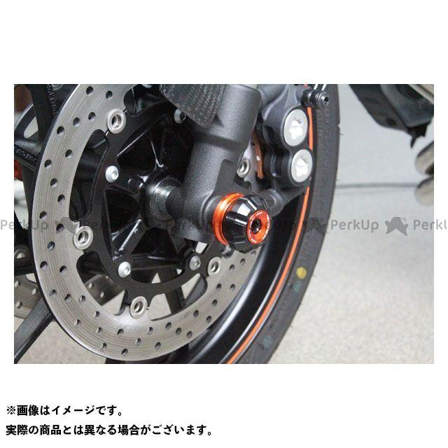 【特価品】RIDEA MT-09 トレーサー900・MT-09トレーサー スライダー類 フロントアクスルスライダー(オレンジ) リデア
