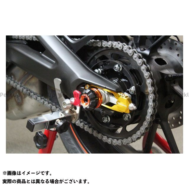 【特価品】RIDEA MT-09 トレーサー900・MT-09トレーサー スライダー類 リアアクスルスライダー(オレンジ) リデア